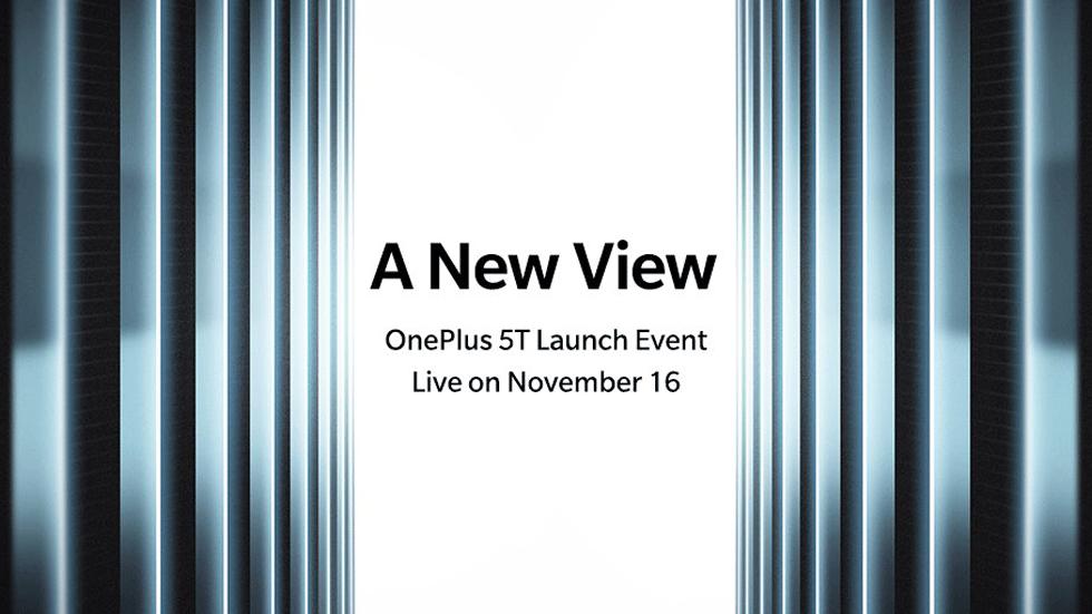 Официально: названа дата и место проведения презентации OnePlus 5T