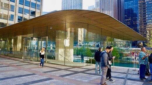 Новейший магазин Apple вформе MacBook оказался неготов кзиме
