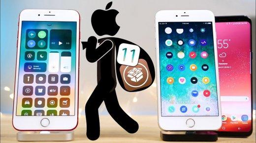 Разработчики выполнили джейлбрейк iOS 11.2.1