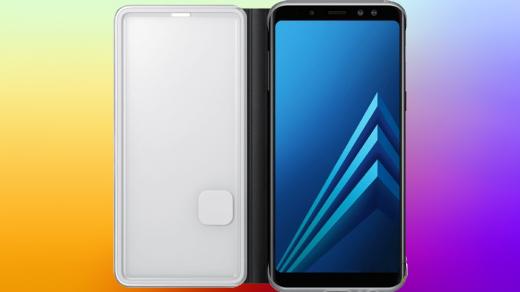 Samsung GalaxyA8 (2018) изсреднего ценового диапазона будет впечатлять (фото)