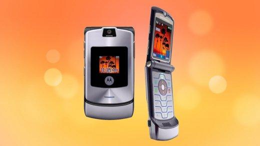 Motorola возродит культовый RAZR V3