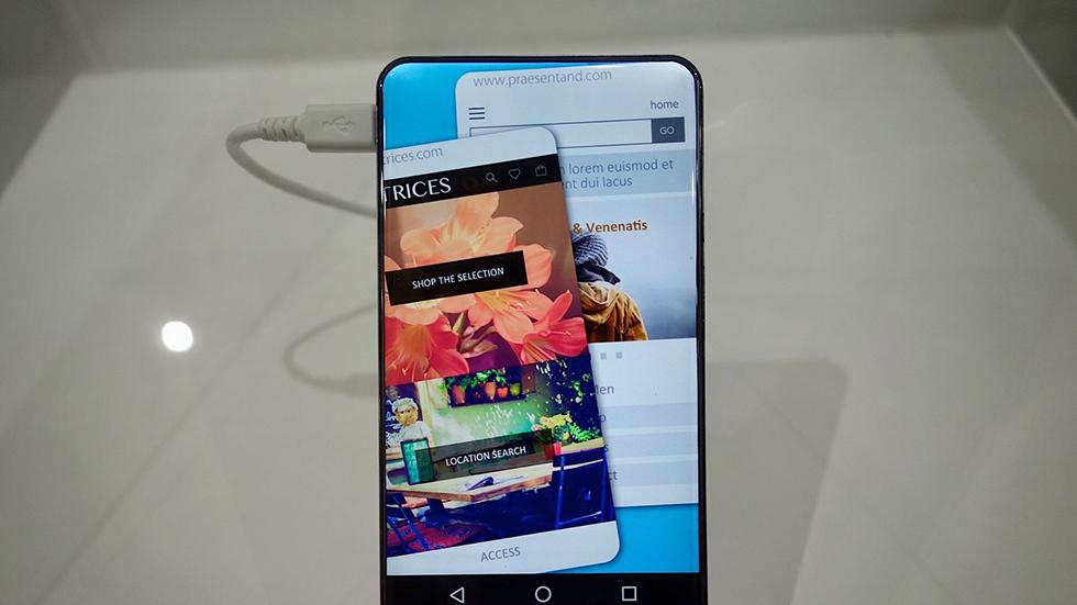 Meizu придумала как создать смартфон сабсолютно безрамочным дисплеем