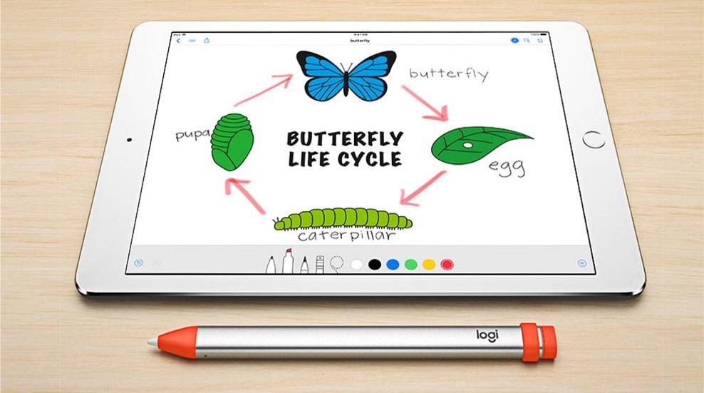 Стилус Logitech Crayon за $49 — хорошая альтернатива Apple Pencil