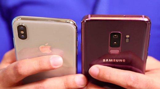 Samsung Galaxy S9признан лучшим смартфоном, iPhone Xтолько восьмой врейтинге