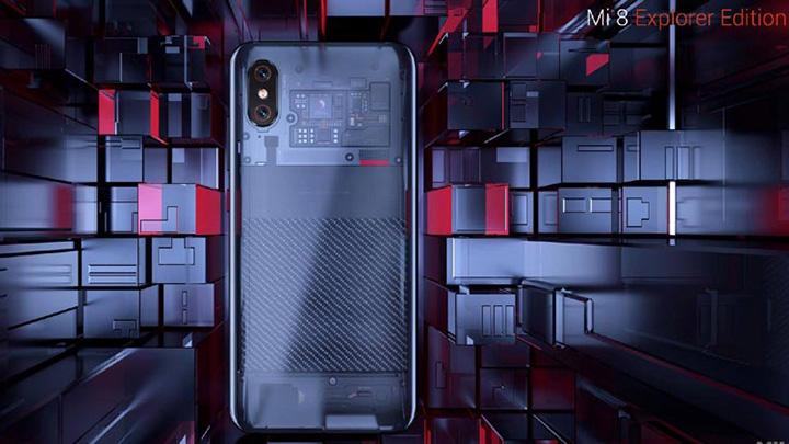 Представлен прозрачный Xiaomi Mi8 Explorer Edition— обзор, характеристики, дата выхода, цена, фото, отзывы