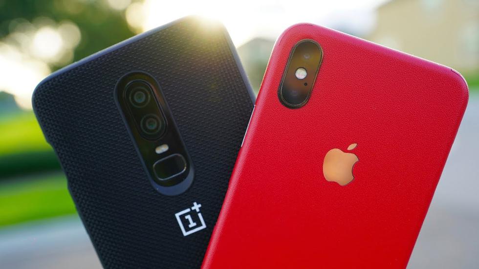 iPhone X против OnePlus 6: у кого лучше камера (видео)