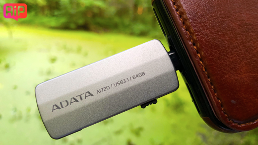 Флешка для iPhone ADATA i-Memory Flash Drive AI720— обзор, характеристики, фото, где купить