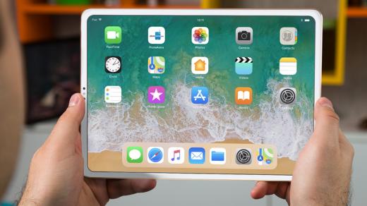 Как будет выглядеть безрамочный iPadX (2018) без «моноброви»— фото, дата выхода
