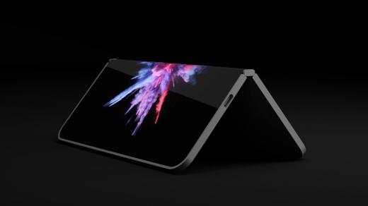 Революционный гнущийся планшет Microsoft Andromeda показали нафото