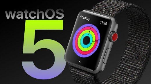 watchOS 5— дата презентации, дата выхода, что нового, нововведения, поддерживаемые устройства