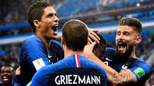 Шикарные обои для iPhone: Франция— чемпион мира пофутболу