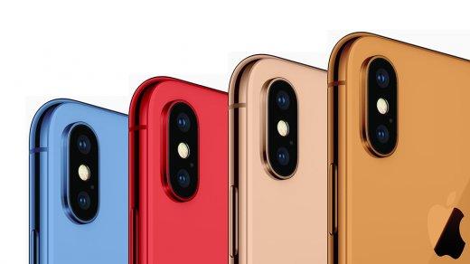 Все новые iPhone 2018 поразят цветами корпусов