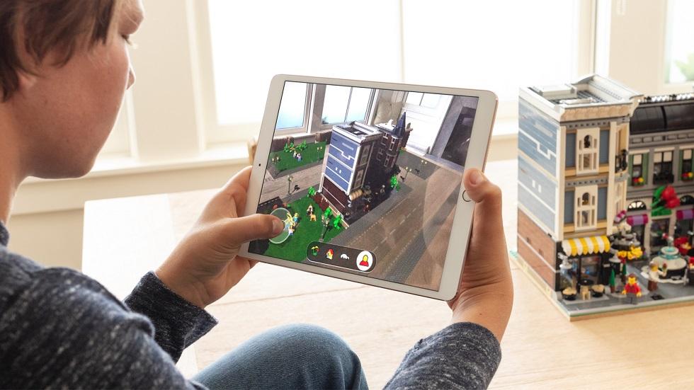 Apple обогатится благодаря дополненной реальности