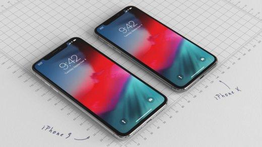 iPhone 9иiPhone X2018 показали накачественных изображениях
