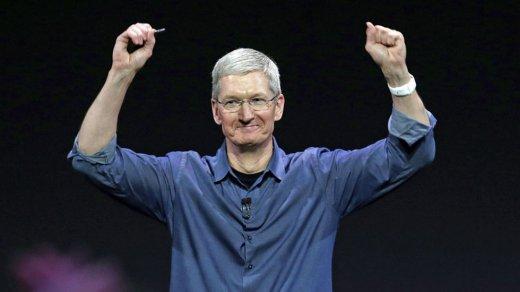 Стоимость корпорации Apple впервые превысила $1трлн