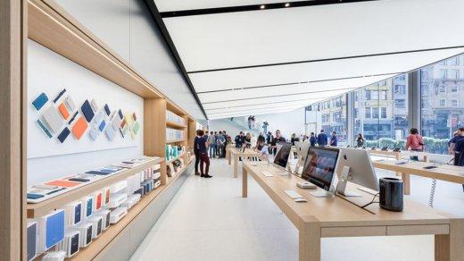 ВКалифорнии произошло самое наглое ограбление магазина Apple