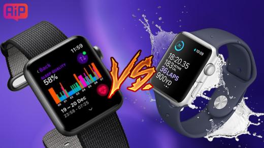 Сравнение Apple Watch Series 4иApple Watch Series 3— чем отличаются, что выбрать