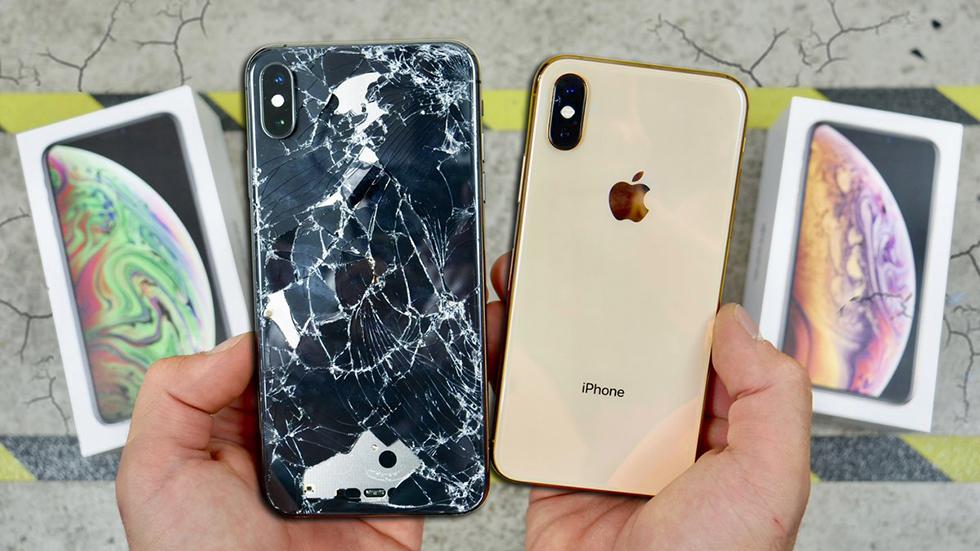 iPhone XSиiPhone XSMax нельзя ронять— разбиваются очень легко