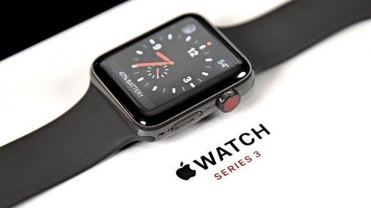 «М.Видео» и«Связной» сбросили цены наApple Watch Series 3после выхода новой модели