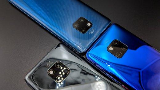 Названы официальные цены флагманов Huawei Mate 20иMate20 Pro вРоссии