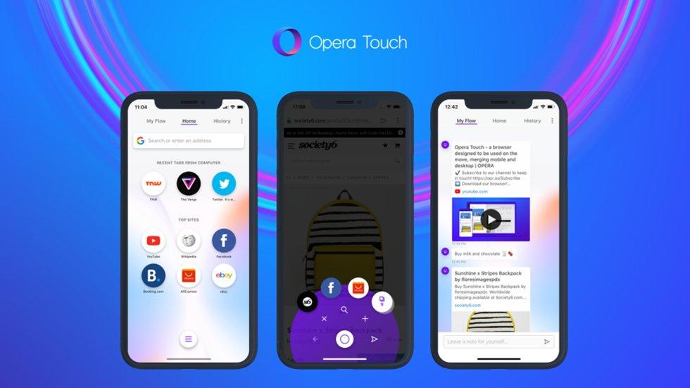 Opera выпустила новый браузер для iPhone— оночень быстрый