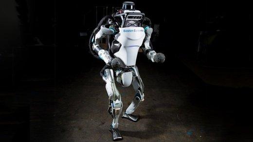 Становится страшно: робота Boston Dynamics Atlas научили паркуру (видео)