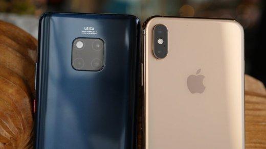 ВHuawei уверены, что Mate 20иMate20 Pro потеснят новые iPhone