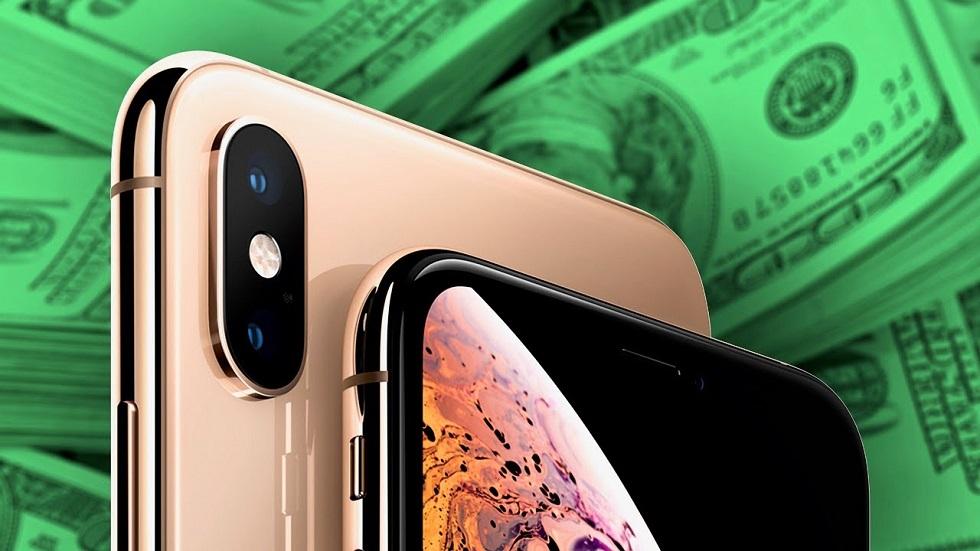 Продажи iPhone XS и iPhone XS Max бьют рекорды