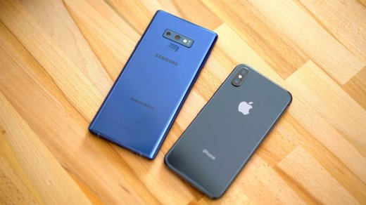 iPhone XS Max разорвал Galaxy Note9 по скорости работы