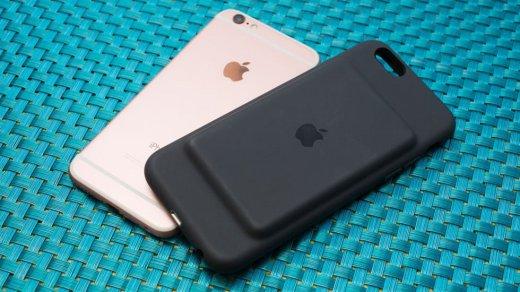 Apple готовит новый «горбатый» чехол-аккумулятор для iPhone