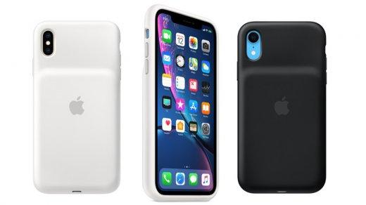 Apple выпустила «горбатые» чехлы-аккумуляторы для iPhoneXS, iPhone XSMax иiPhone XR