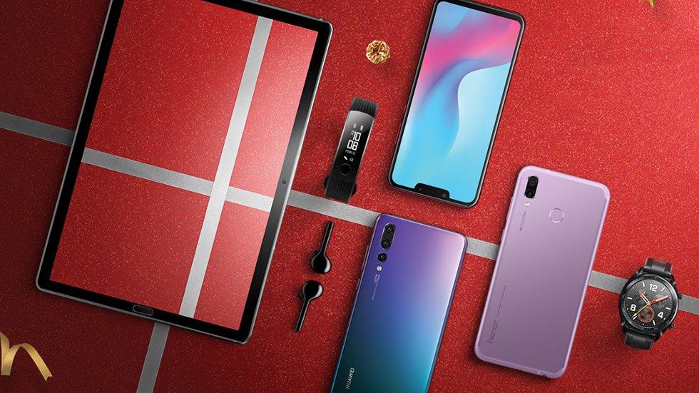 Huawei временно распродает лучшие смартфоны поакции «Киберпонедельник»