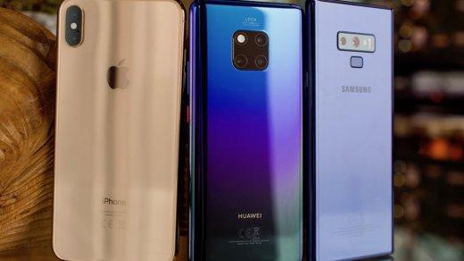 Назван топ-10 смартфонов случшими камерами на начало 2019 года