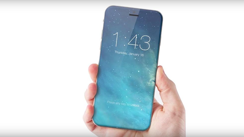 Названа дата выхода первого iPhone сотверстием вдисплее