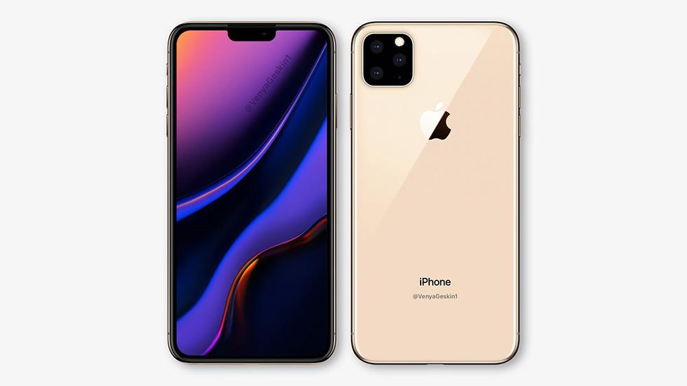 Опубликованы качественные рендеры iPhoneXI (2019) стройной камерой