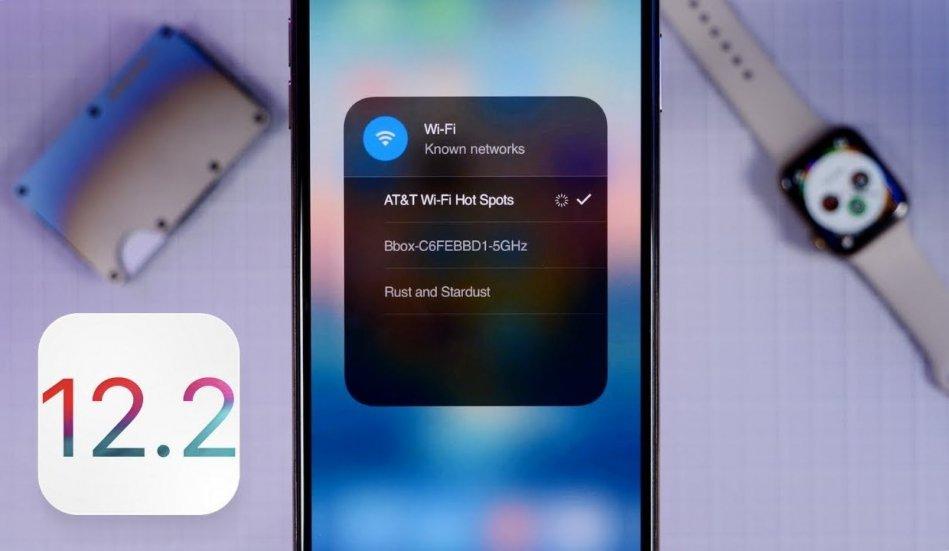 iOS 12.2 удивила пользователей скоростью работы