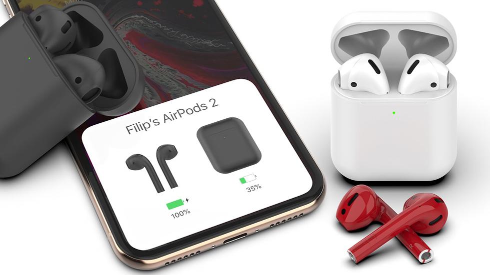 Apple создает «умные» наушники AirPods