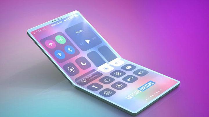 Как будет выглядеть складной iPhone (фото)