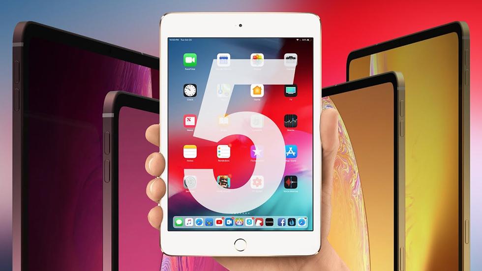 Раскрыты характеристики идизайн iPad mini 5