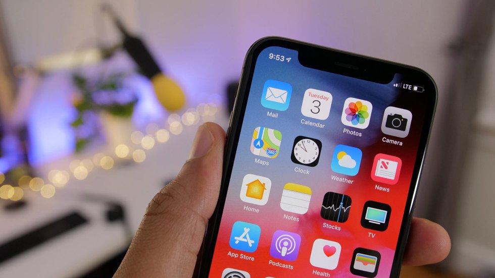 ВiOS 12.2 увеличено время автономной работы iPhone