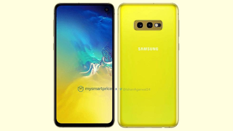 С оглядкой на iPhone XR: Galaxy S10e выйдет в ярко-желтом цвете