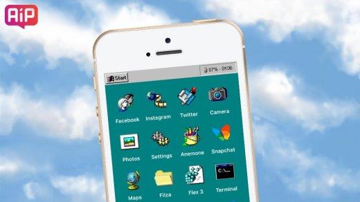 iOS «превратили» вWindows 95