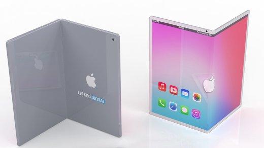 Представлен концепт складного iPad