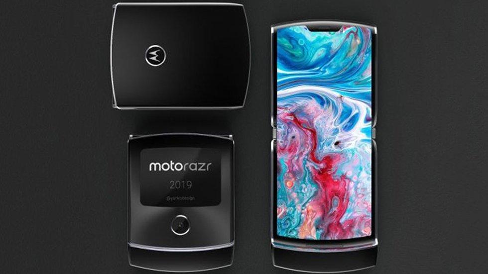 Складной Motorola RAZR 2019: появились новые подробности