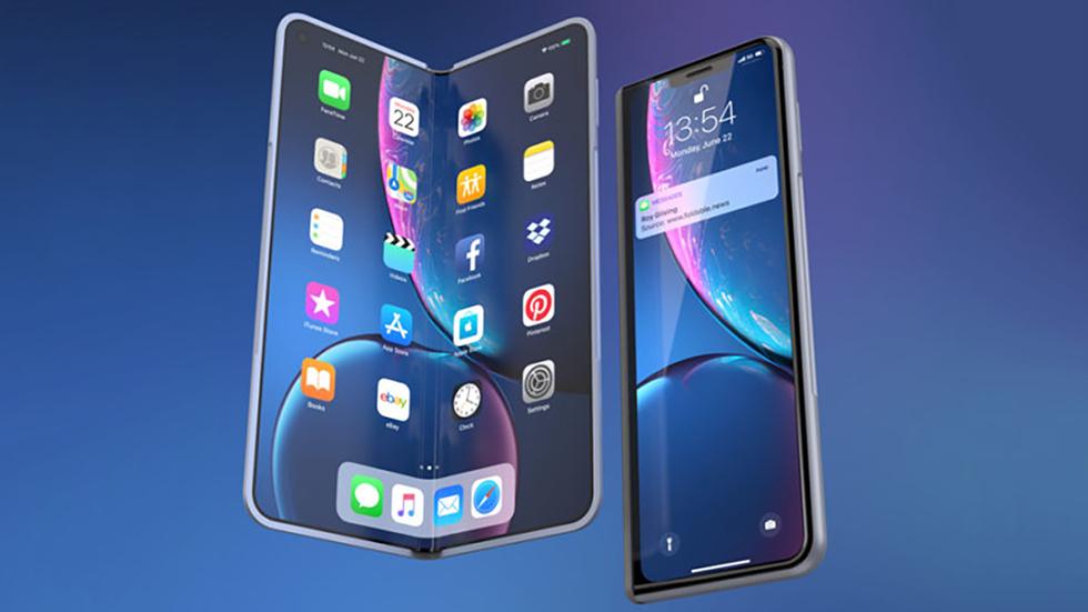 Складной iPhone небудет выключаться наморозе