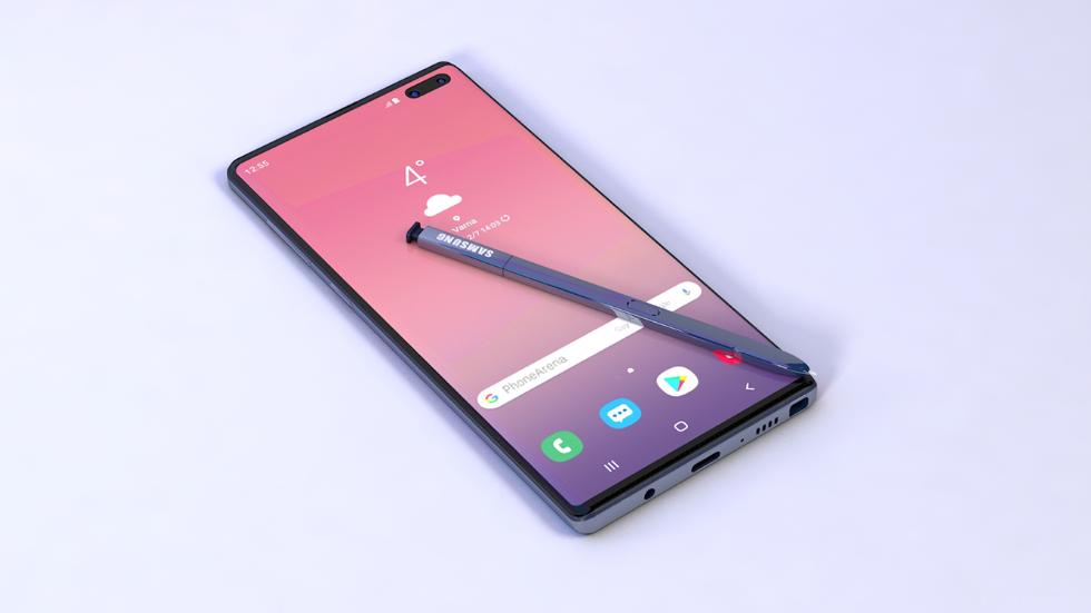 Опубликованы качественные рендеры Galaxy Note10