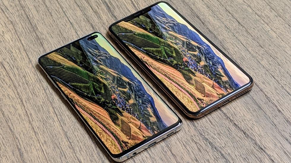 iPhone XS Max сильно опередил Galaxy S10+ по времени работы
