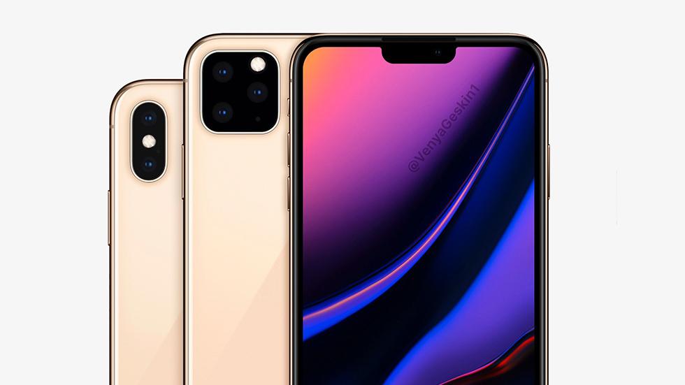 iPhone11 (XI) получит тройную «квадратную» камеру