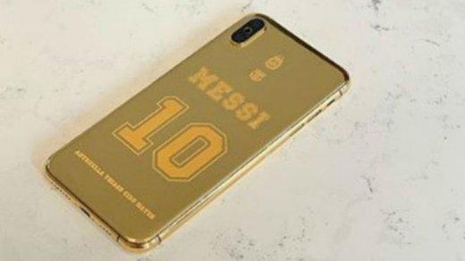 iPhone Месси засветился нафото. Ониззолота