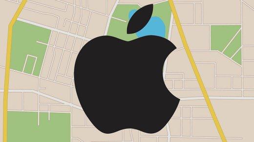Apple неисправила карты Крыма, как требовала Госдума